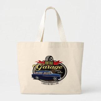 Vintager Garagen-Nomade Jumbo Stoffbeutel