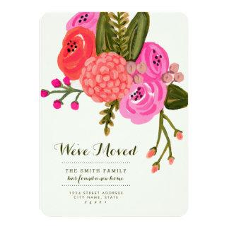 Vintager Garten-bewegliche Mitteilungen 11,4 X 15,9 Cm Einladungskarte