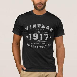 Vintager Geburtstag 1917 T-Shirt