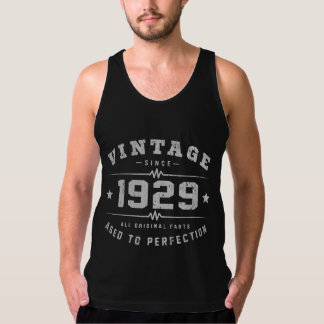 Vintager Geburtstag 1929 Tank Top