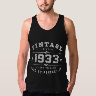 Vintager Geburtstag 1933 Tank Top