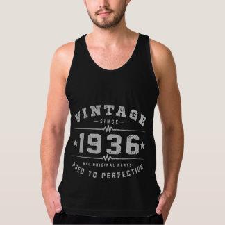 Vintager Geburtstag 1936 Tank Top