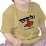 Vintager Geburtstags-Jungen-Sport-erstes Hemd