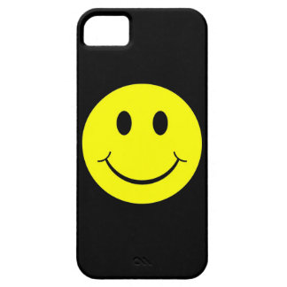 Vintager gelber glücklicher Smiley iPhone 5 Kasten Etui Fürs iPhone 5