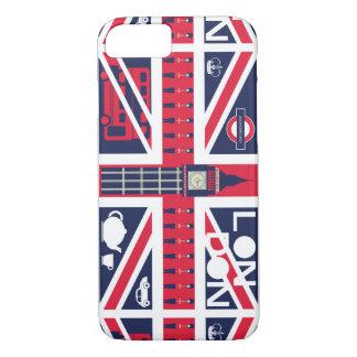 Vintager Gewerkschafts-Jack-BRITISCHE Flagge mit iPhone 8/7 Hülle