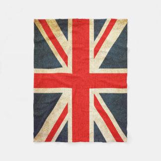 Vintager Gewerkschafts-Jack-britische Fleecedecke