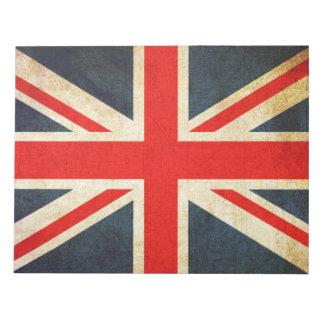 Vintager Gewerkschafts-Jack-britischer Memo Notizblöcke
