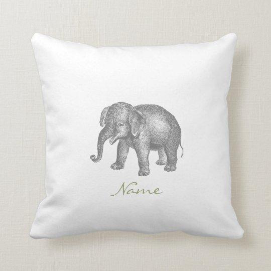 vintager gl cklicher baby elefant und kissen zazzle. Black Bedroom Furniture Sets. Home Design Ideas