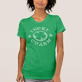 Vintager glücklicher Charme T-Shirt