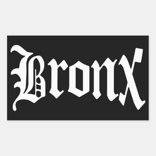 Vintager gotischer Aufkleber Bronx New York
