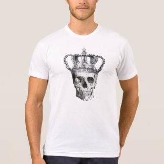 Vintager gotischer Schädel mit T-Shirt König-Crown