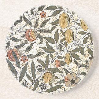 Vintager Granatapfel Williams Morris Sandstein Untersetzer