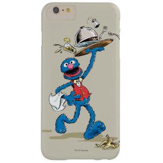 Vintager Grover der Kellner Barely There iPhone 6 Plus Hülle