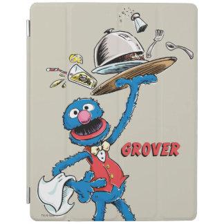 Vintager Grover der Kellner iPad Hülle