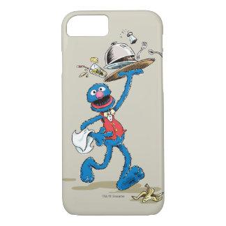 Vintager Grover der Kellner iPhone 8/7 Hülle