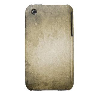 Vintager Grunge-Entwurfs-BlackBerry-Kurvenkasten Case-Mate iPhone 3 Hülle