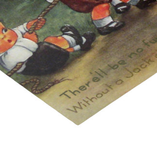 Vintager Halloween-Kürbis scherzt Partygewebe Seidenpapier
