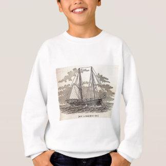 Vintager HeilbuttSchooner Sweatshirt