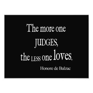 Vintager Honore Balzac mehr Richter weniger Liebe-