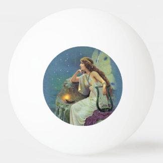 Vintager hübscher feenhafter tischtennis ball