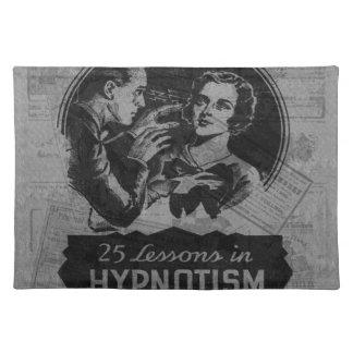 Vintager Hypnotism Stofftischset