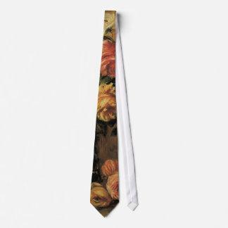 Vintager Impressionismus, Rosen in einem Vase Individuelle Krawatten