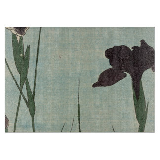 Vintager Iris-Garten Ukiyo-e japanische Malerei