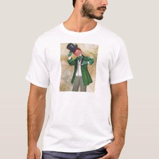 Vintager irischer Herr T-Shirt