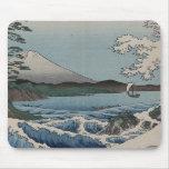 Vintager Japaner das Meer von Satta Mauspad