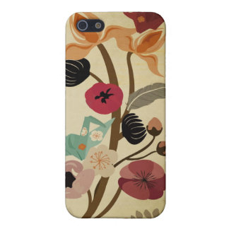 Vintager japanischer Blumen Speck-Kasten iPhone 5 Schutzhülle
