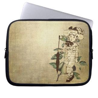 Vintager Junge Laptopschutzhülle