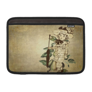 Vintager Junge MacBook Sleeve