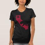 Vintager Kalifornien-Staats-Bär T-shirt