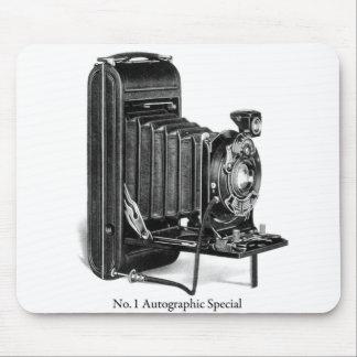 Vintager Kamera Photograpy No.1 autographischer Mousepad