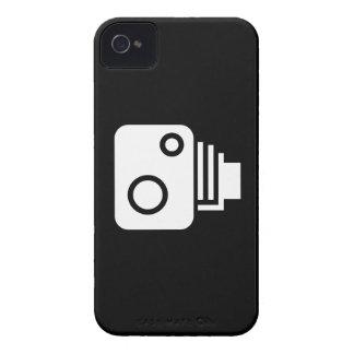 Vintager Kamera-Piktogramm iPhone 4 Fall iPhone 4 Case-Mate Hülle