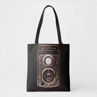 Vintager Kamera rolleicord Kunst-Deko Tasche