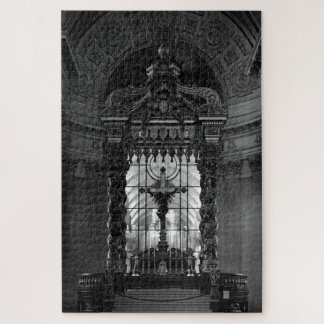Vintager Kapellenaltar St- Jamespalast Paris Puzzle