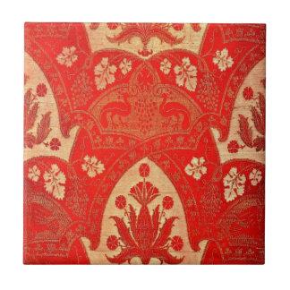 Vintager Kardinals-Entwurf Fliese