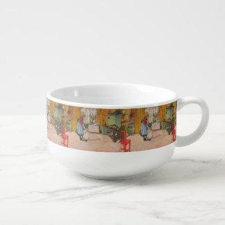 Vintager Karl Larsson die Küche Große Suppentasse