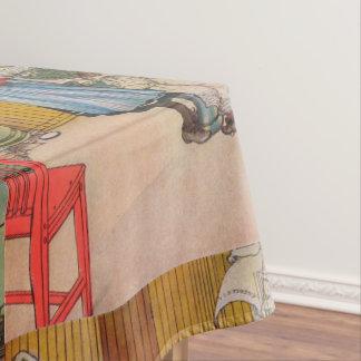 Vintager Karl Larsson die Küche Tischdecke