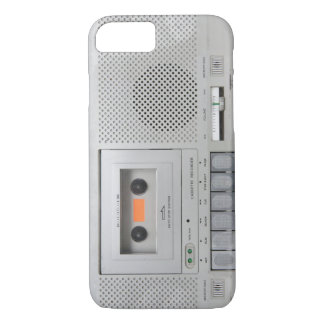 Vintager Kassetten-Recorder iPhone 7 Hülle
