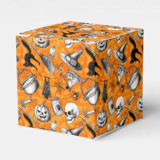 Vintager Kasten Halloweens Geschenkschachtel