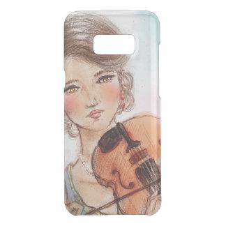 Vintager Kasten Samsungs-Galaxie - Violine Get Uncommon Samsung Galaxy S8 Plus Hülle