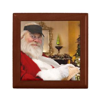 Vintager Kasten Weihnachtsmanns Jewerly Geschenkbox