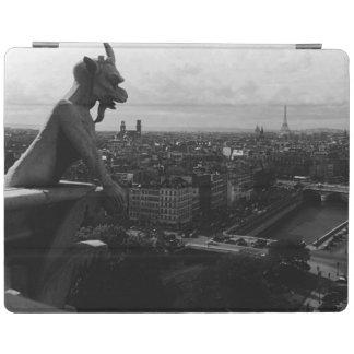 Vintager Kathedralenteufel Frankreichs Paris Notre iPad Hülle