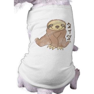 Vintager Kawaii Sloth T-Shirt