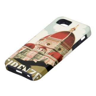 Vintager KircheDuomo Reise-Florenz Firenze Italien iPhone 5 Etuis