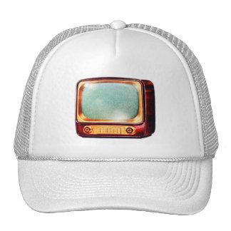 Vintager Kitsch Fernsehaltes FernsehSet Baseballcap