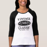 Vintager Klassiker 1982 T-Shirts