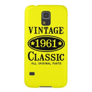 Vintager Klassiker Samsung 1961 rufen Fall an Samsung S5 Hüllen